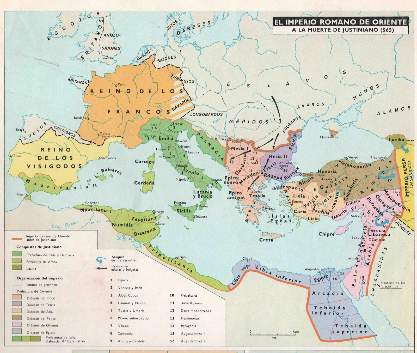 El Imperio Romano y las Invasiones