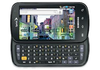 Samsung Epic 4G Black Smartphone