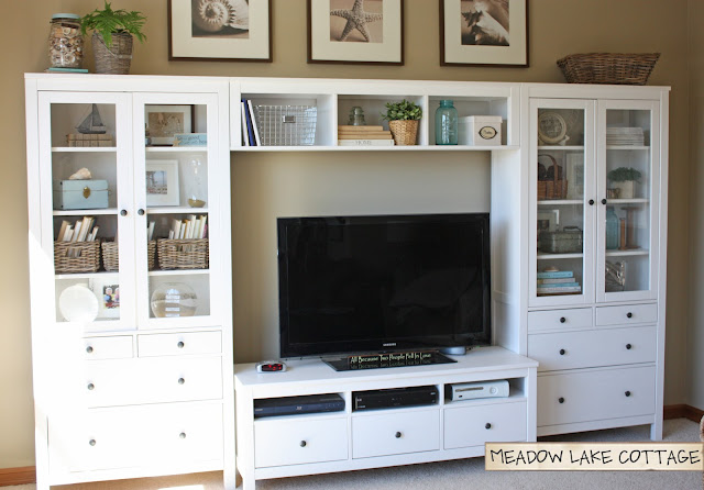 Ikea Mandal Headboard Review ~ Back > Gallery For > Ikea Entertainment Center Ideas