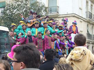 Chirigotas por Cádiz