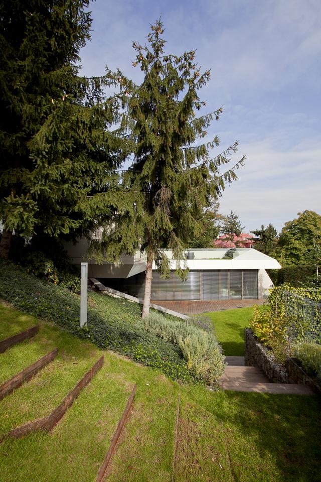Landscape around Ultra Modern House by architekti.sk, Slovakia