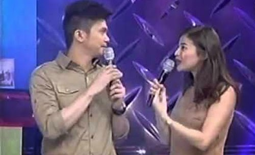 "Video: Anne Curtis greets Vhong Navarro with ""I love you"" on his"