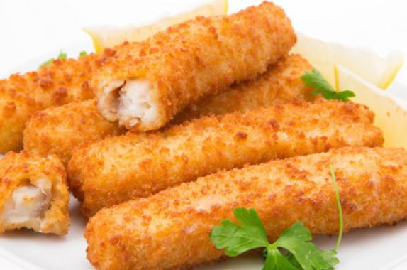 Fatto In Casa Ricetta Per I Bastoncini Di Pesce Sani Nutrienti E