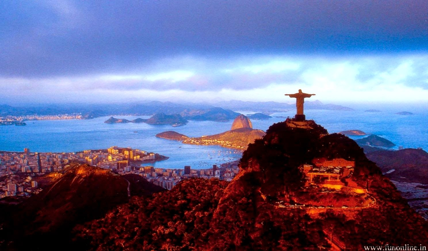 Rio de janeiro sunset wallpaper photos all hd wallpapers - Wallpaper photos ...
