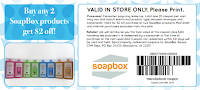 Soap Box Coupon
