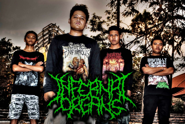 Infernal Organs Band Brutal Death Metal karangasem - Bali foto personil logo artwork wallpaper