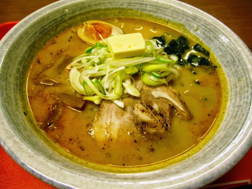Miso Curry Milk Ramen Tanchatei Towada みそカレーラーメン たんちゃ亭 十和田市