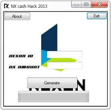 how to generate free nexon nx cash