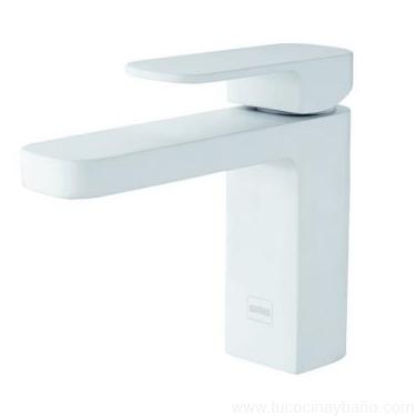 Grifo baño blanco lavabo