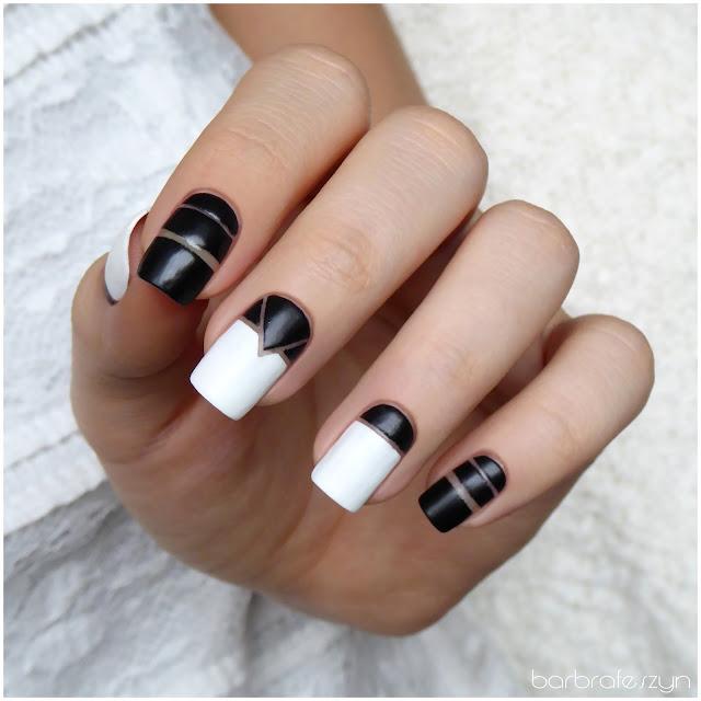 Czarno-białe negative space