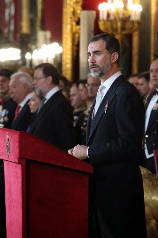 Discurso de Felipe VI ante el Cuerpo Diplomático 2015