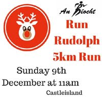 5k in Castleisland, Kerry... Sun 9th Dec 2018