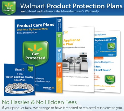 Register for Walmart Product Care Plans for Safety on