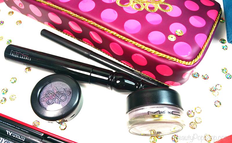 gifts for women mac nutcracker sweet smoky eye bag