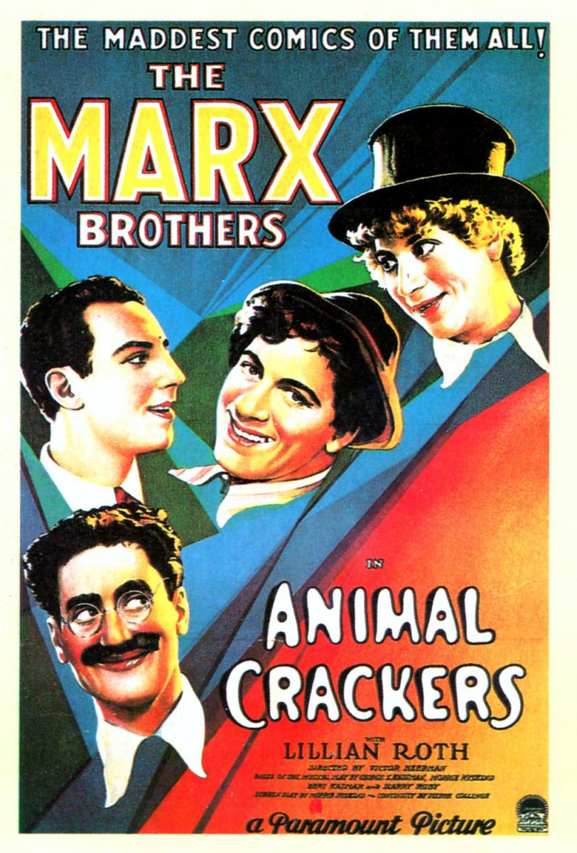 Hermanos Marx: Animal Crackers (Victor Heerman, 1930)