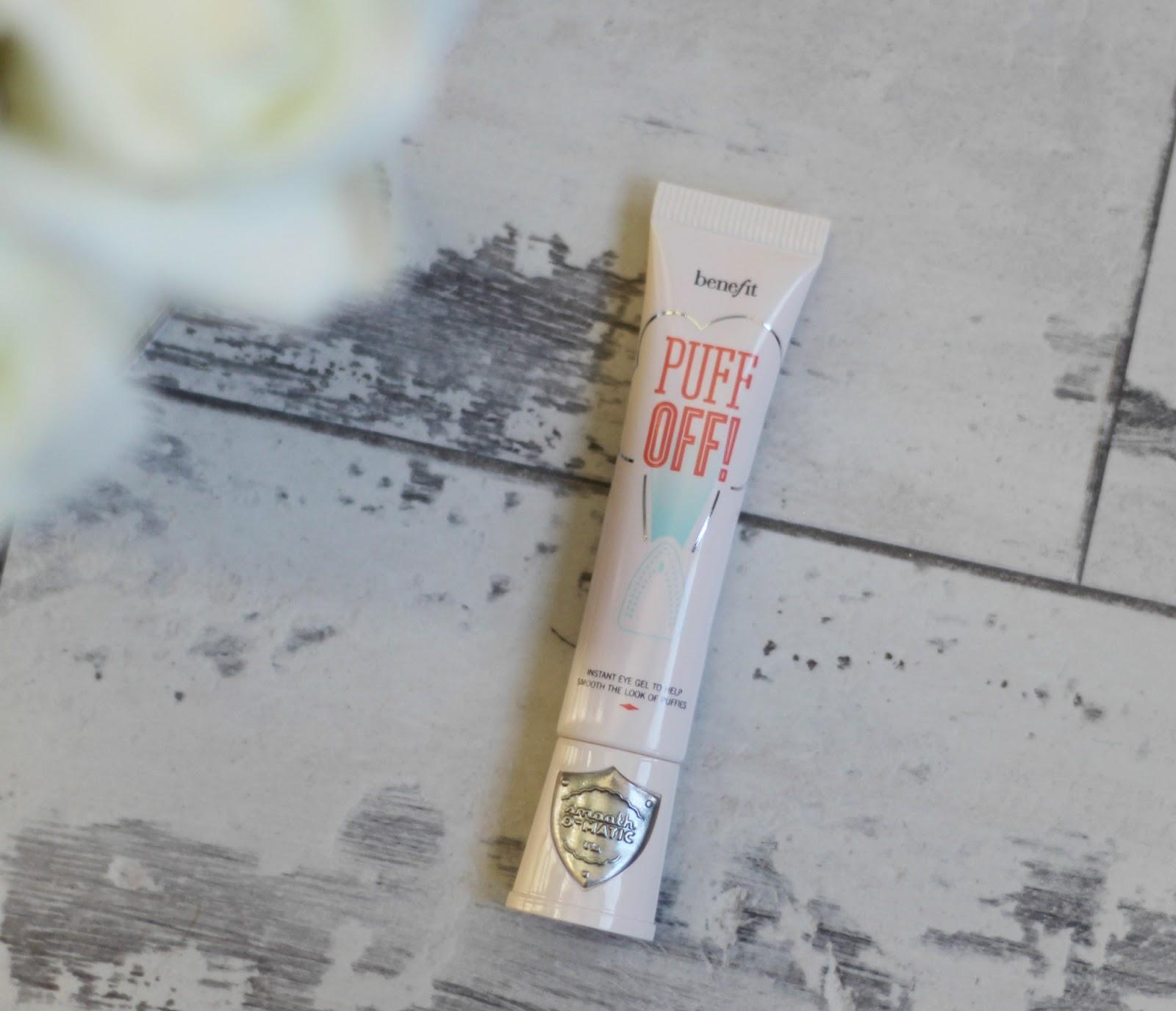 benefit, benefit puff off, benefit puff off eye gel, through chelsea's eyes, benefit skincare