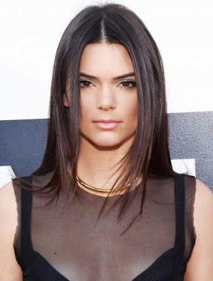 Model rambut super straight si cantik kendall_32001698