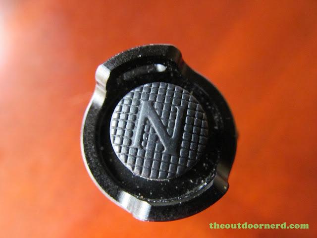 Nitecore MT1A AA Flashlight: Closeup Of Switch Boot