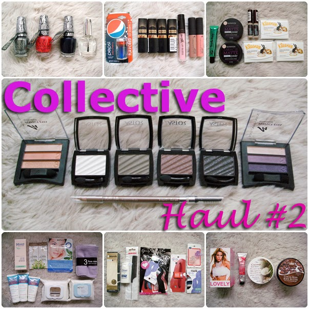 Collective Bargain / Discount Makeup and Beauty Haul OPI Nail Polish, Astor Eye Shadows and Lipsticks, MUA Eyebrow Pencil, Barry M, Kleenex, and lots more!