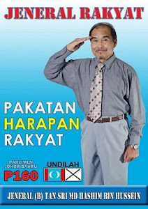 BEKAS JENERAL BERSAMA KITA