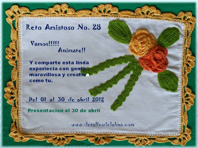 RETO AMISTOSO No.28 POR GRISELDA