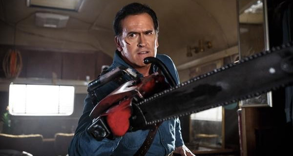 "Bruce Campbell es Ash Williams en ""Ash Vs Evil Dead"""