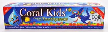 coral llc kids toothpaste