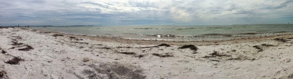Honeymoon Island Beach, Florida USA