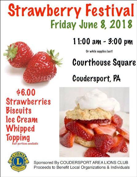 6-8 Strawberry Festival