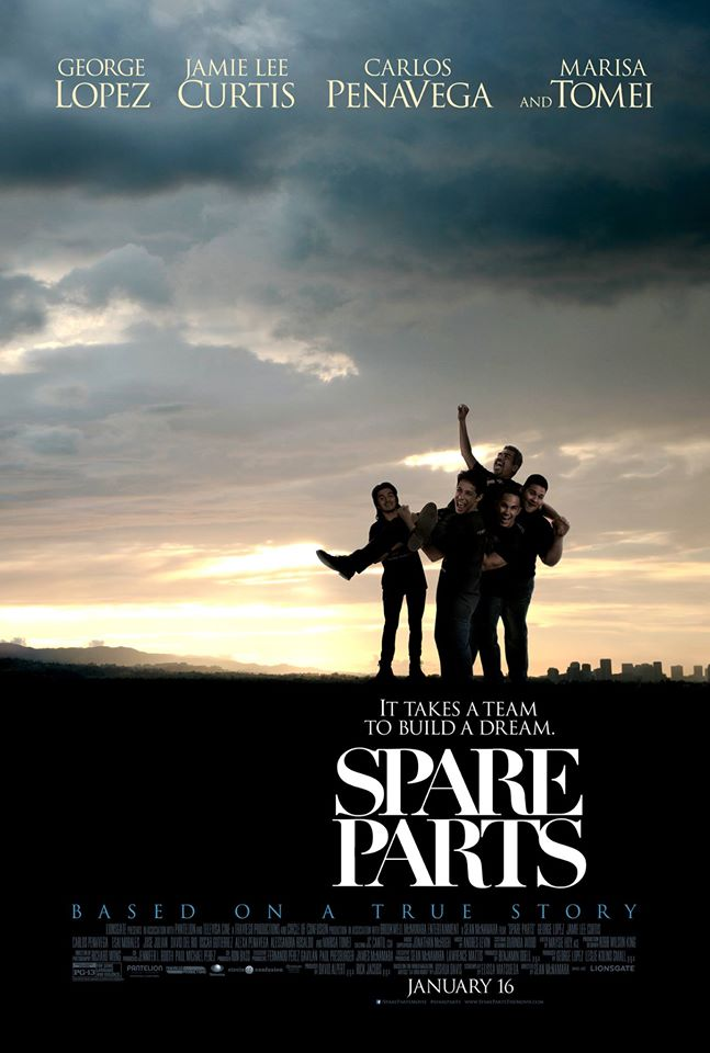 Spare Parts Movie Film 2015 - Sinopsis (Alexa PenaVega, Jamie Lee Curtis)