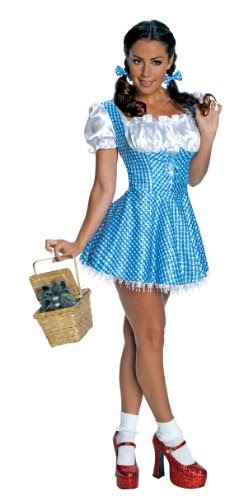 Secret Wishes Wizard Of Oz 75th Anniversary Edition Sequin Dorothy Costume - $30.78