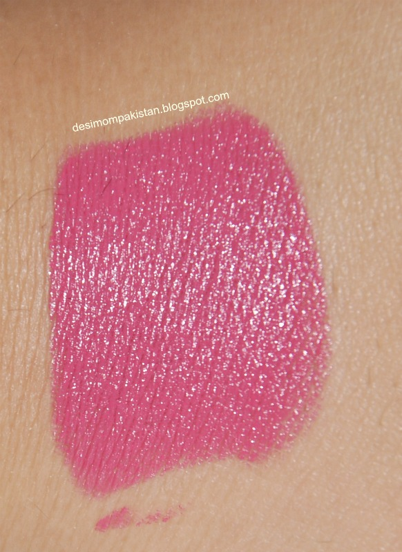 LUSCIOUS SIGNATURE LIPSTICK IN RASPBERRY swatch