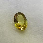 Batu Permata Yellow Sapphire Ceylon - SP1027