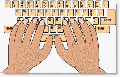 Windows tips Hướng dẫn gõ bàn phím bằng cả 10 ngón tay