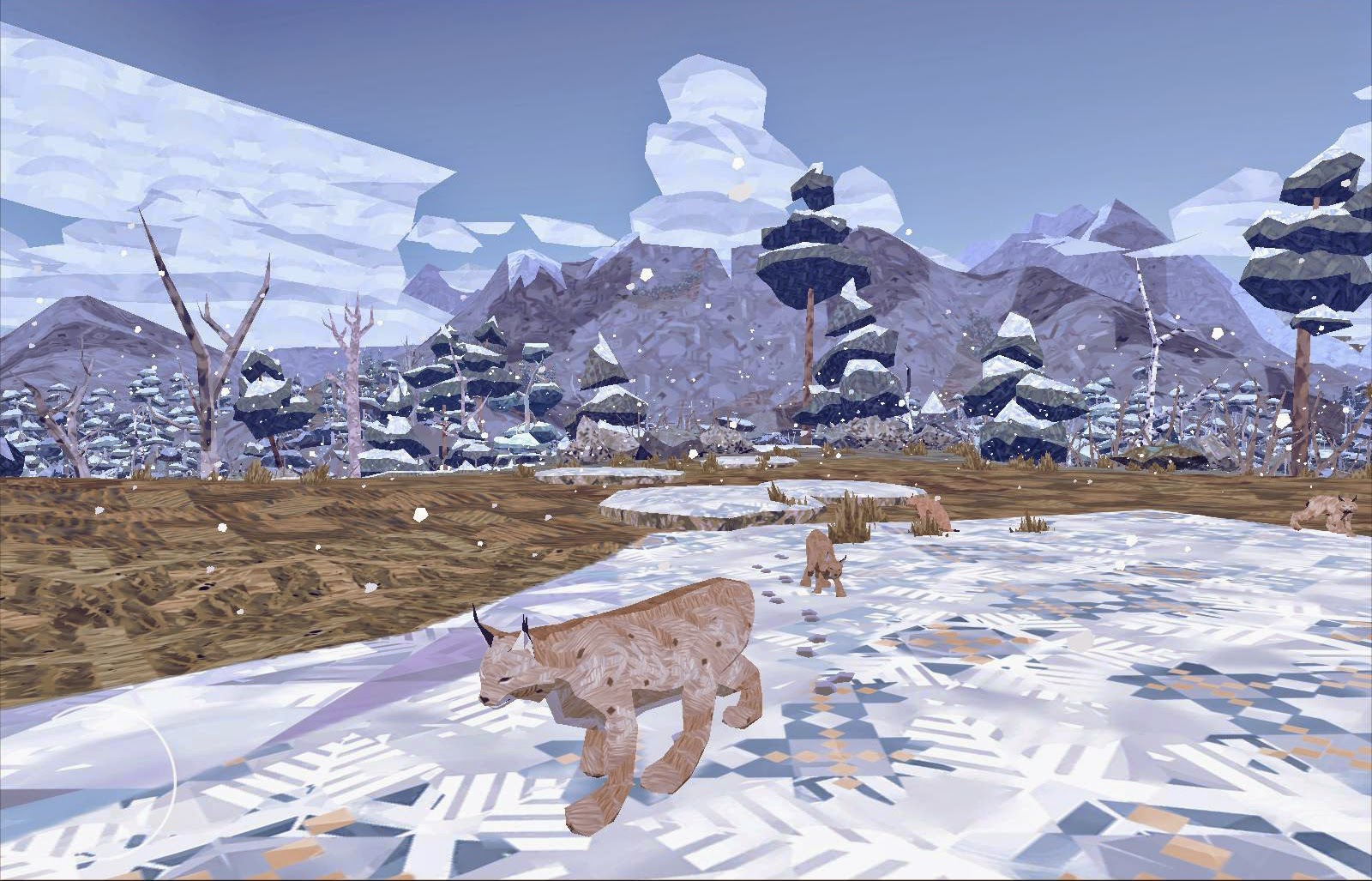 Shelter 2 screenshot Winter with cubs