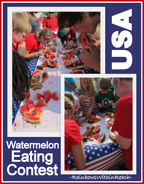 photo of: Watermelon Eating Contest on the Fourth of July