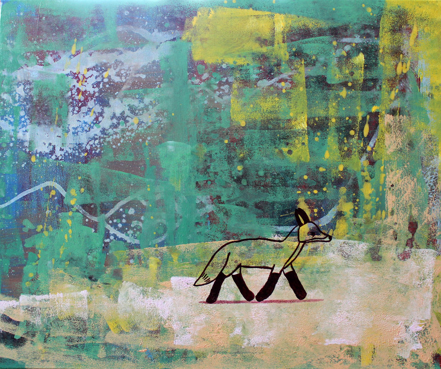Fatally cute abstract paintings for Cute abstract art