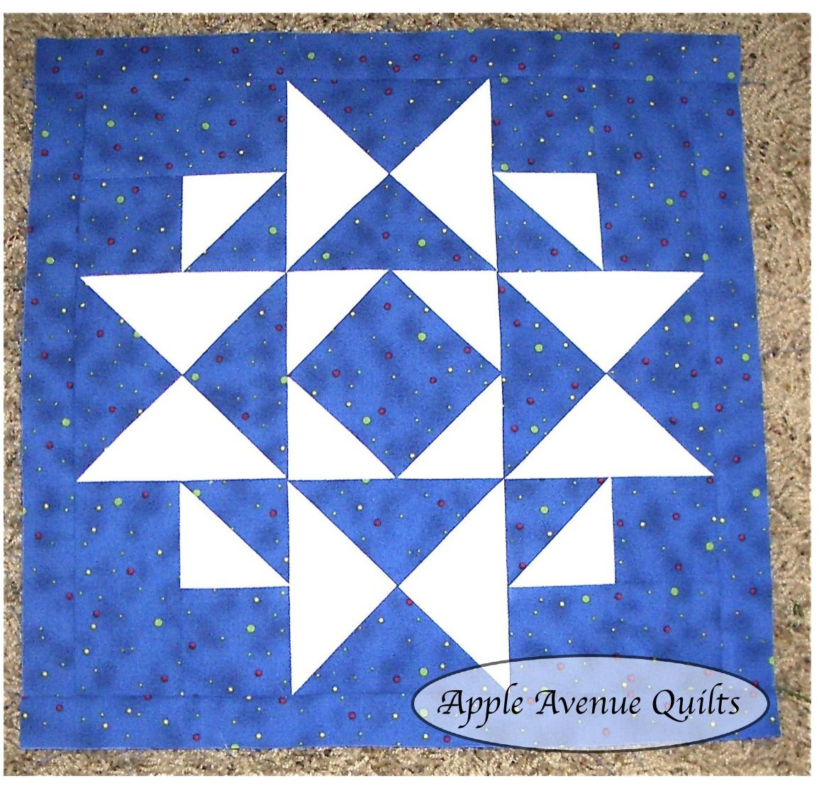 Apple Avenue Quilts: Free Block of the Month: January Blocks and ... : free quilt block of the month - Adamdwight.com