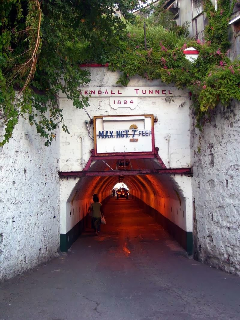 Sendall Tunnel in Grenada