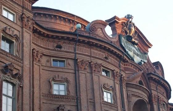 Immagine: Palazzo Carignano-Particolare