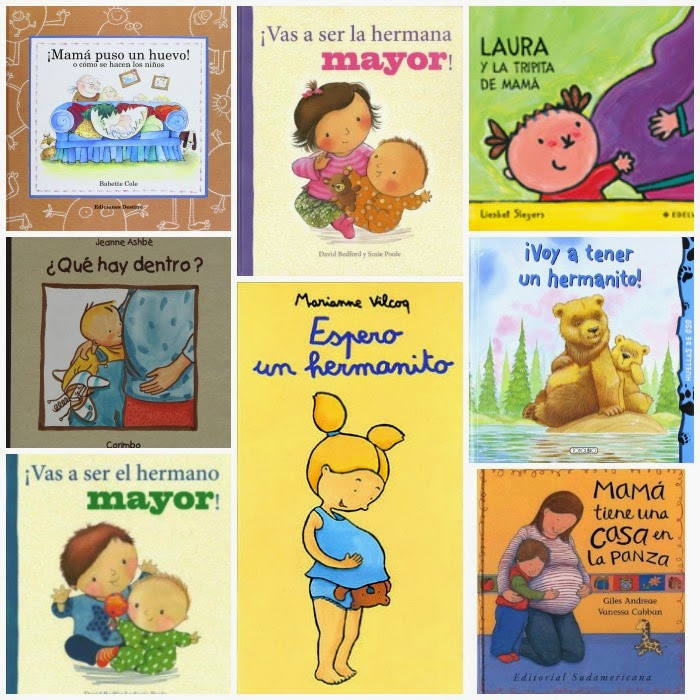 libros para ninos que esperan un hermano