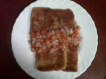 San Jacobos y guarnicion de ensalada