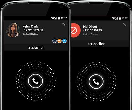 True Caller Mobile App