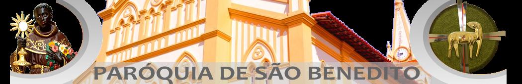 ARQUIVO - Paróquia de São Benedito - Pedreiras/MA