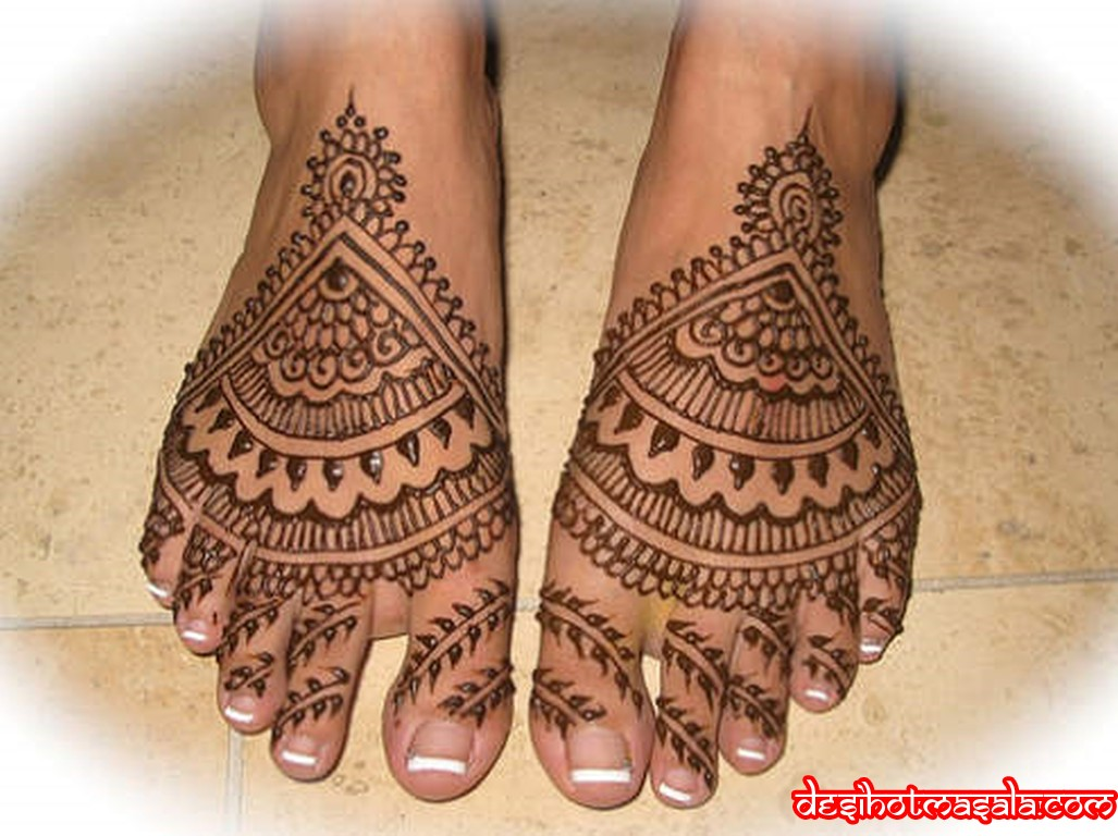 Mehndi Leg Designs : Solasinghaar beautiful mehndi designs legs