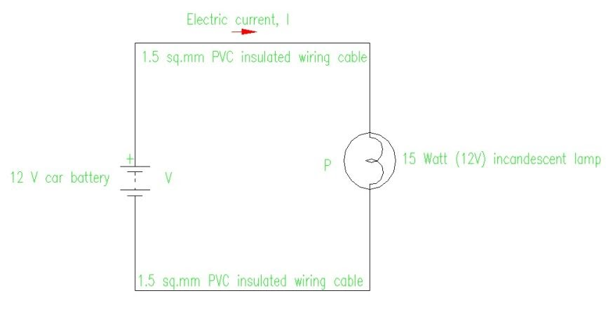 Electric Circuit Diagram Design  Electric Circuit Basic
