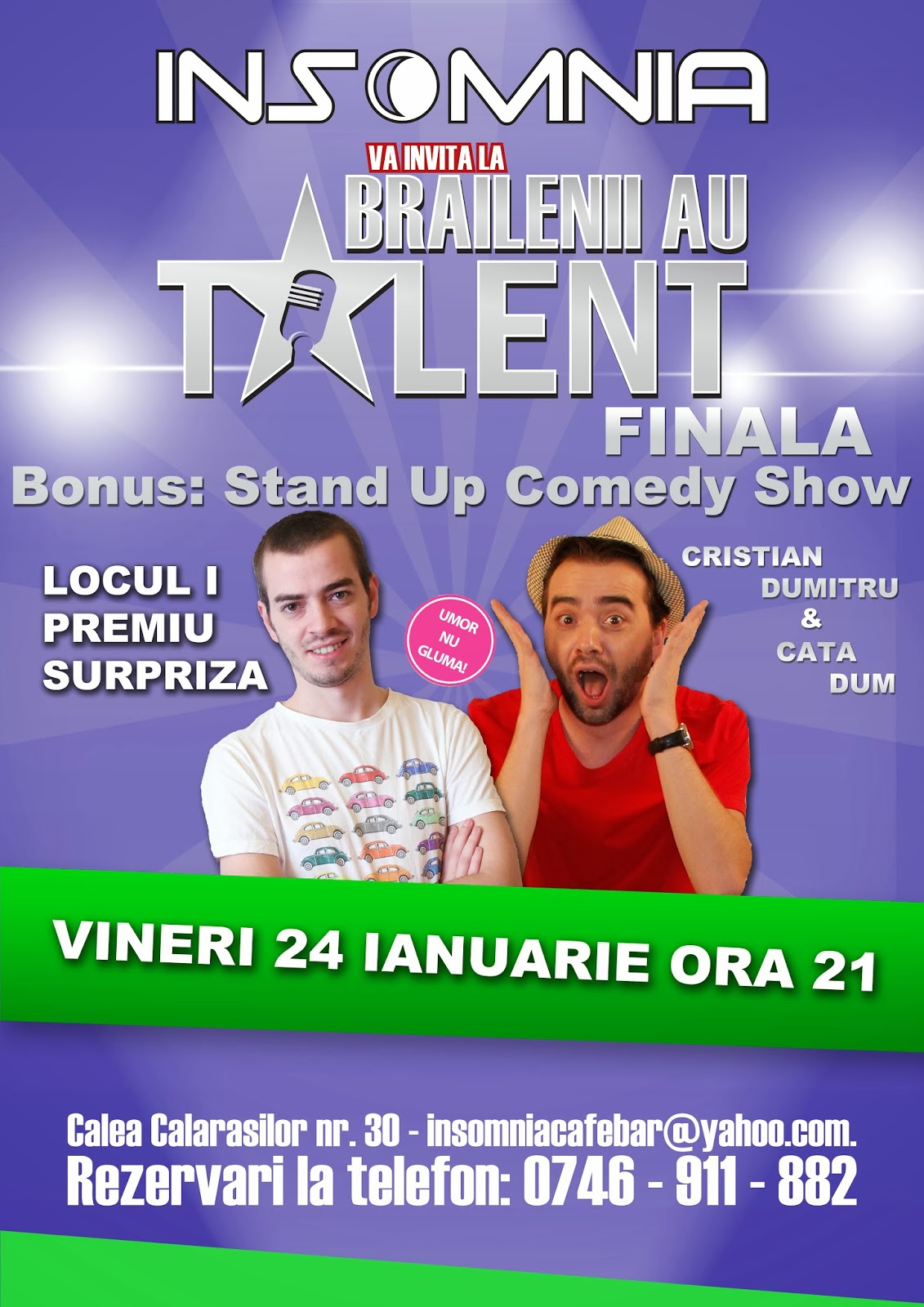 stand-up comedy braila 2013