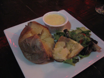Tapas Barinn Baked potato with salad and Alioli