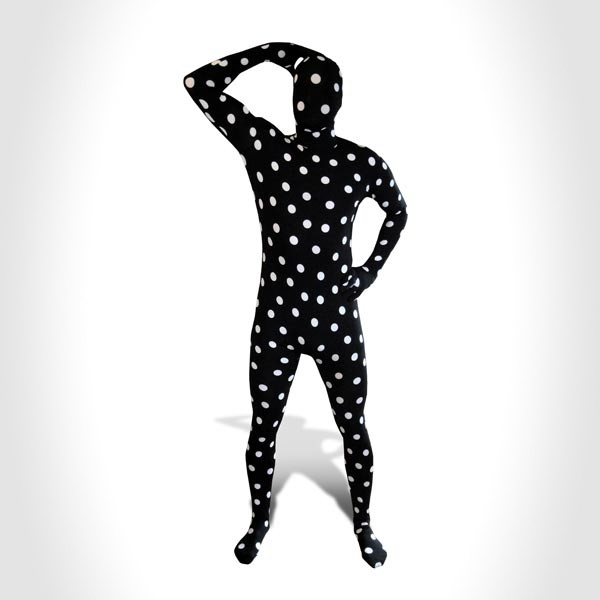black and white spot Morph Suits