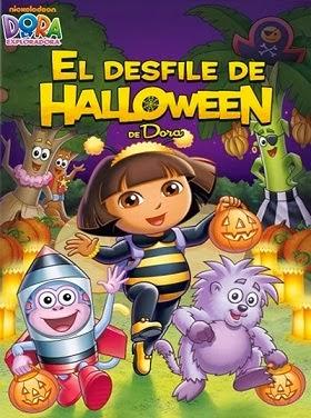 Capa - Dora a Aventureira O Desfile de Halloween